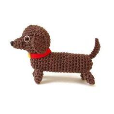 pattern miniature dachshund crochet - Google Search