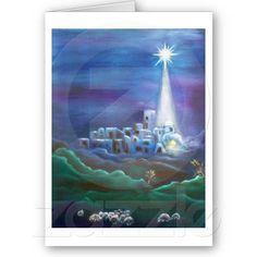 "Christmas Card, "" Oh Night Devine"""