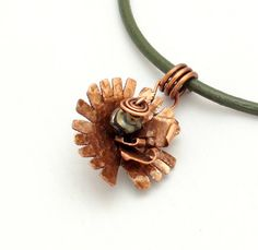 Listed today in my #Etsy shop #EvAtelier1 #copper #jewlery