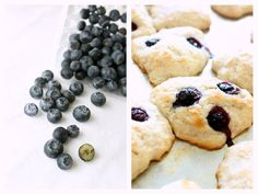 Easy blueberry coconut vegan scones - no butter, no eggs!