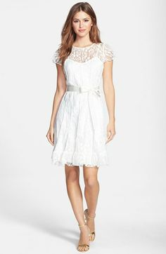 Eliza J Pintuck Lace Dress Pee Nordstrom Welcome Home Rehearsal Dinner Dresses