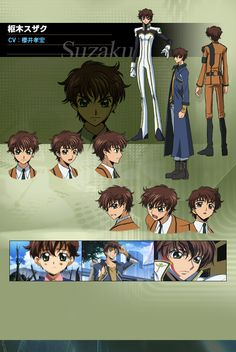 One of my favourite characters in code geass if you haven't seen this you really need to its awesome (suzaku)