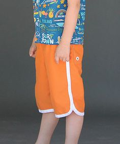 Clean Slate Pants or Shorts pattern for boys and girls by Blank Slate Patterns