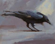 "Daily Paintworks - ""Raven 2"" - Original Fine Art for Sale - © Thorgrimur Andri Einarsson"