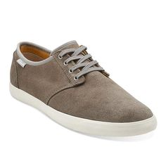 Clarks Men's Torbay Lace Oxford, Taupe, 7.5 M US Clarks