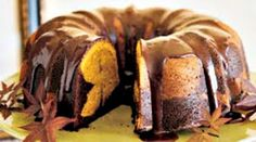 Dying for Chocolate: Chocolate Pumpkin Marble Bundt Cake for Thanksgiving Pumpkin Bundt Cake, Bundt Cake Pan, Chocolate Bundt Cake, Chocolate Chocolate, Bundt Cakes, Marble Bundt Cake Recipe, Pumpkin Chiffon Pie, Sweet Butter, Dessert Cake Recipes