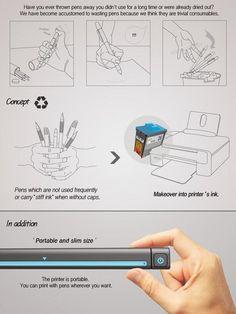 Impresora innovadora: portátil y productiva