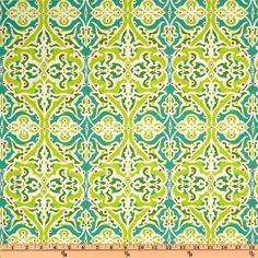 Michael Miller Lush Sculpted Garden Grass - Curtains $7.18 yard