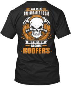 /'SAVE A HORSE RIDE A ROOFER/' - Funny Men/'s Job Roofer Roofing T-shirt