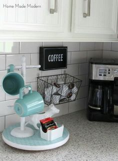 I like the small basket hanger on the wall!