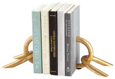 Goldie Locks Bookends - contemporary - Bookends -