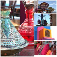 tajine deco marroqui marruecos colores http://azatelier.blogspot.com.es/2014/05/dreams-delicias-marroquies.html