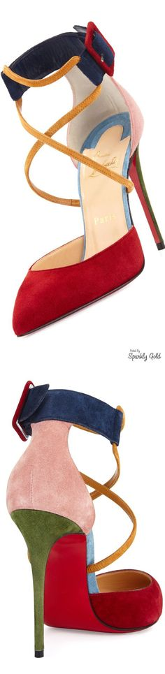 Rosamaria G Frangini | ShoeAddict | High Shoes | Christian Louboutin Suzanna