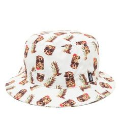 abb4190f32 Vans Drained And Confused Bucket Hat - Mens Backpack - Pineapple Men s  Backpack