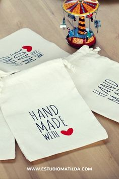 Bolsas lienzo estampadas #packaging #bolsas #impresas
