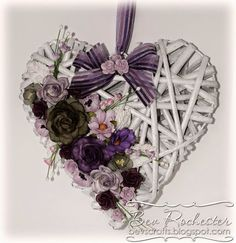 All the things I love: Willow Heart Sola Wood Flowers, Diy Flowers, Heart Decorations, Valentine Decorations, Wicker Hearts, Wild Orchid, Mosaic Crafts, Flower Wall Decor, Heart Wall