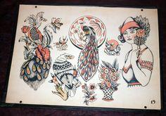 Фред Маркванд - Неизвестное имя, легенды | Vintage Tattoo