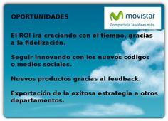 Oportunidades. Análisis DAFO Movistar.