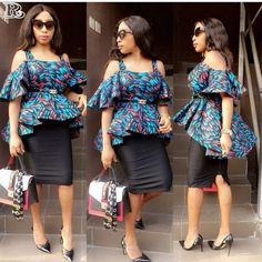 Ankara Skirts for church and the TGIF office outfit - Reny styles