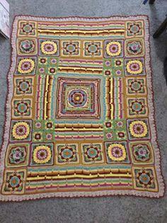 Crochet Squares, Crochet Granny, Crochet Blanket Patterns, Granny Squares, Love Crochet, Knit Crochet, Crochet Things, Bugatti Wallpapers, Knitted Afghans
