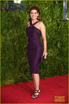 harry connick jr debra messing tony awards 2015 08