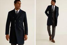 Mango Man Double Breasted Suit, Gentleman, Suit Jacket, Suits, Mango, Jackets, Fashion, Moda Masculina, Men's
