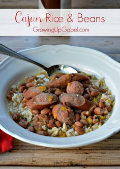 Need an easy dinner recipe full of flavor? Check out Cajun Rice and Beans recipe for a quick dinner idea!