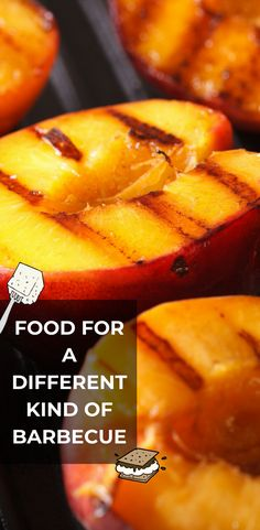 Grill different with cheese, desserts, fruits, tofu and vegetables. Smoker Designs, Different Kinds, Grills, Tofu, Barbecue, Sweet Potato, Cheese, Fruit, Vegetables
