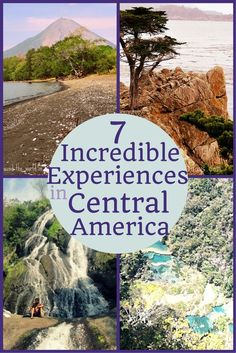 From hiking waterfalls to sledding down volcanoes, here are 7 incredible experiences to have in Central America.
