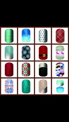 Jamberry new Holiday designs for 2014 www.amytalley.jamberrynails.net