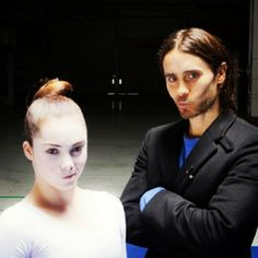 #ThrowbackThursday: @ JaredLeto + @ McKaylaMaroney on the set of #UpInTheAir last year!  (via http://instagram.com/p/kX82_BgPiY/
