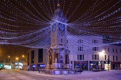 Brighton Clock Tower in Snow   Flickr - Photo Sharing!