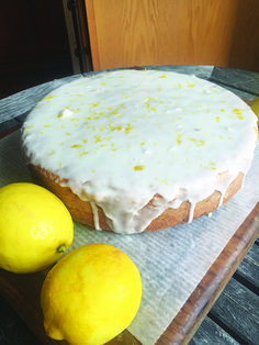 Lemon cake for Easter | Recipe from Sunny Gandara of Arctic Grub in the Norwegian American Weekly