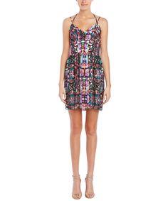AMANDA UPRICHARD AMANDA UPRICHARD WHENEVER SILK A-LINE DRESS'. #amandauprichard #cloth #day