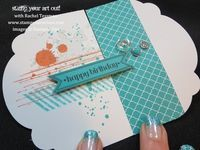 Can Grunge Be Gorgeous? - Stamp Your Art Out! Funky & Fun Fold card tutorial