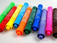 smell good markers (except the black one- I hate licorice)