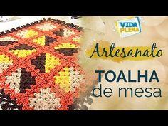 Artesanato | Toalha de mesa em crochê - YouTube