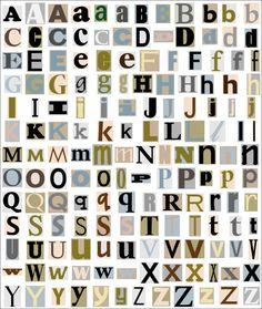 blad met letters - Google zoeken