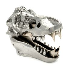{T-Rex Skull Staple Remover} this is just plain brilliant. I want to remove staples right now.