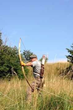 flatbow and backquiver
