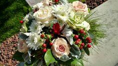 Essence of Winter Arrangement Floral Wreath, Wreaths, Gallery, Winter, Flowers, Home Decor, Winter Time, Flower Crowns, Door Wreaths