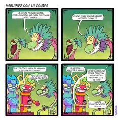 The food of the Gods. Mexican Memes, Aztec Art, Modern History, Funny Art, Fnaf, Culture, Cartoon, Humor, Comics