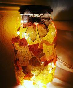 Autumn Leaves Lantern