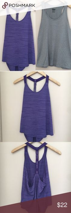 Two Nike Tank Tops! 🌻Two for the price of one! 🌻Both size medium, both in excellent condition. 🌻These are listed separately in my closet as well. 🌻See separate listing for details. 🌻From a pet free and smoke free home.  🌻Bundle and save - 20% off 2 or more listings! Nike Tops Tank Tops