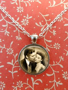 Gone With The Wind Necklace Rhett Butler by teaANDtentacles, $8.75