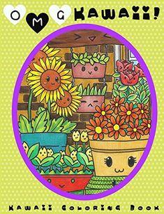 OMG Kawaii Coloring Book Cute Colorin