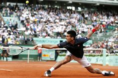 Novak Djokovic - Some people say tennis players are some of the best overall athletes... Not gonna disagree.