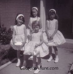 Couture Allure Vintage Fashion: Easter 1963...My mum always made me the most wonderful Easter dresses!