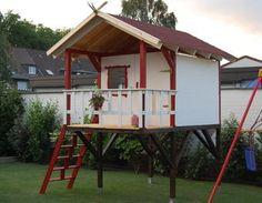 Emy Stelzenhaus! Holzhaus,Kinderspielplatz,Stelzenhaus,Kinderhaus