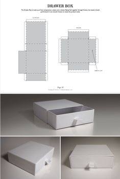The Drawer Box is made up of two components: a sleeve and a drawer. Being held together through friction, the drawer should pull forward in one smooth motion to reveal the product inside. Packaging Dielines, Product Packaging Design, Box Packaging Templates, Coffee Packaging, Bottle Packaging, Food Packaging, Retail Packaging, Packing Box Design, Packing Boxes